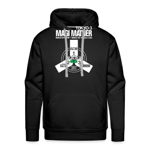 MAGI MATHER (BLACK) - Men's Premium Hoodie