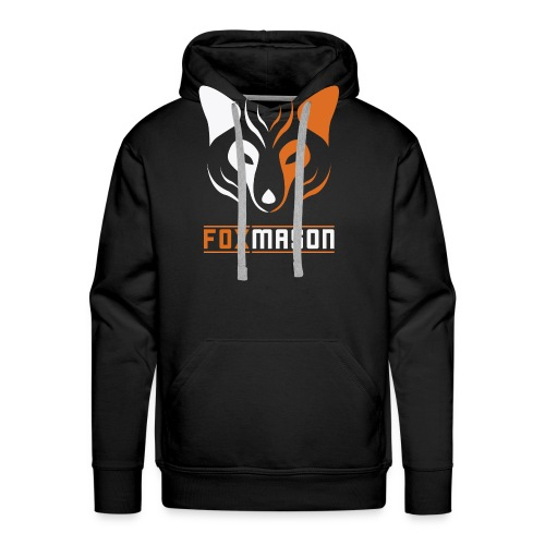 shirt vector version png - Men's Premium Hoodie