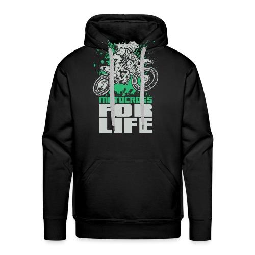 Motocross For Life Stunt - Men's Premium Hoodie