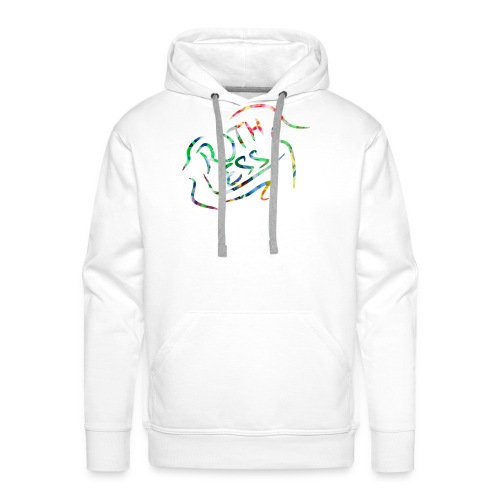 Flower Signature Black - Men's Premium Hoodie