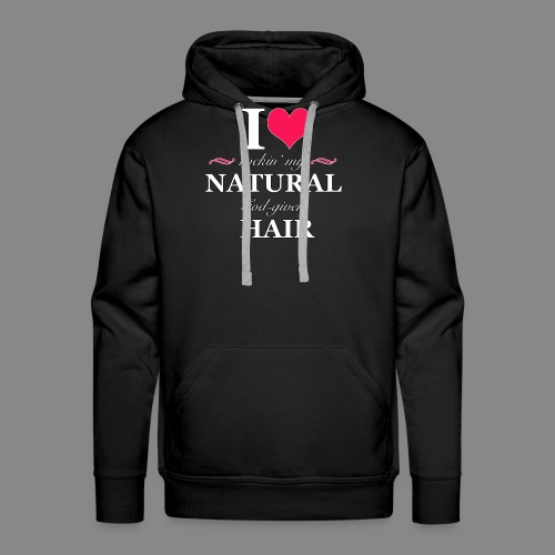 Love Rockin Natural Hair - Men's Premium Hoodie
