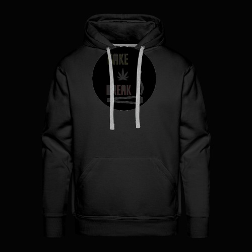 Bake Break Logo Cutout - Men's Premium Hoodie