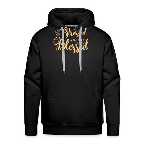 STRESSED & BLESSED - Men's Premium Hoodie