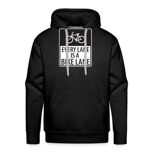 Every Lane is a Bike Lane - Men's Premium Hoodie