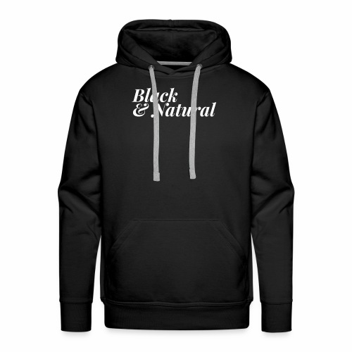 Black & Natural Women's Tee - Men's Premium Hoodie