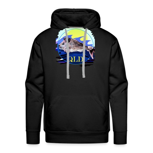 SNAPPER FISHING OFFSHORE AND INSHORE QLD - Men's Premium Hoodie