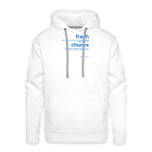 Clothing for All Urban Occasions (Blue) - Men's Premium Hoodie