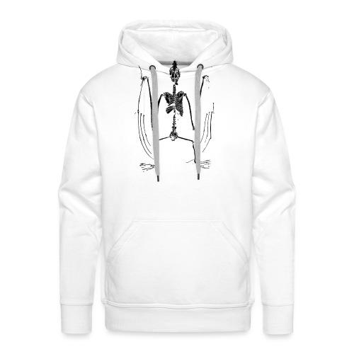 Bat Skeleton - Men's Premium Hoodie