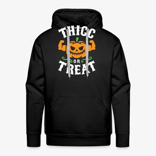 Thicc Or Treat - Men's Premium Hoodie