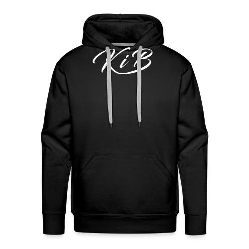 KiB Letter Logo png - Men's Premium Hoodie