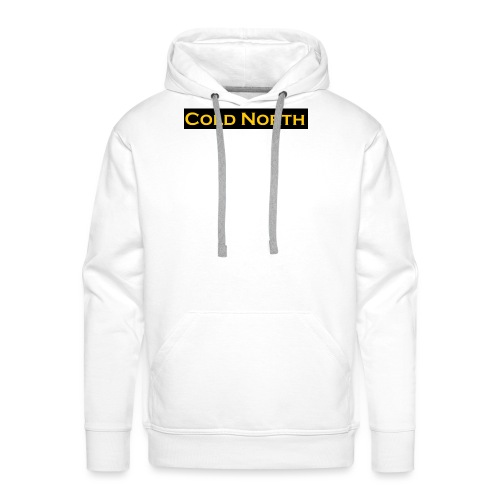 Special limited edition ColdNorth Tag. - Men's Premium Hoodie