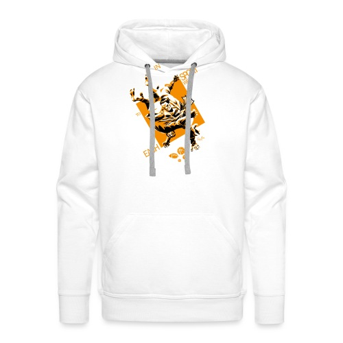 Judo Grab Design for dark shirts - Men's Premium Hoodie