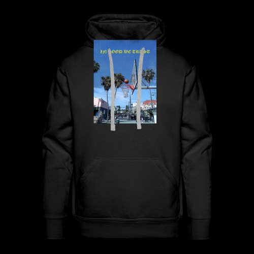 Venice Beach IN GOOD WE TRUST - Men's Premium Hoodie
