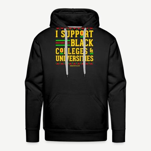 I Support HBCUs - Men's Premium Hoodie