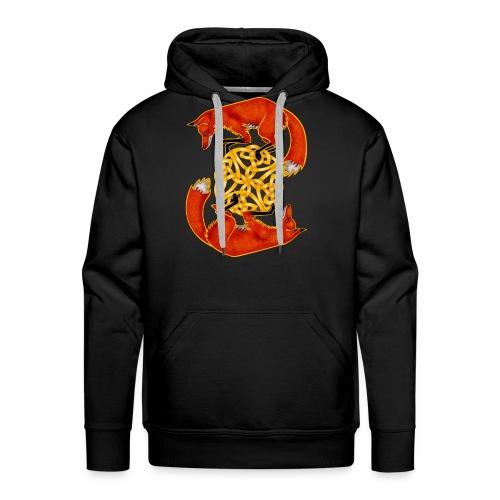 Circling Foxes - Men's Premium Hoodie