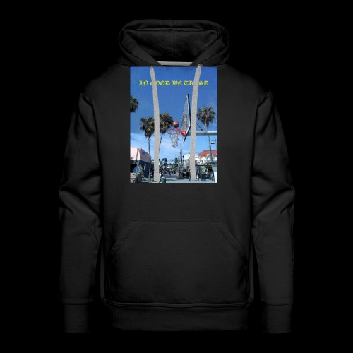 Venice Beach IN GOOD WE TRUST - Men's Premium Hoodie