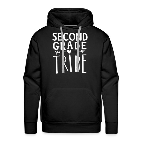 Second Grade Tribe Teacher Team T-shirts - Men's Premium Hoodie