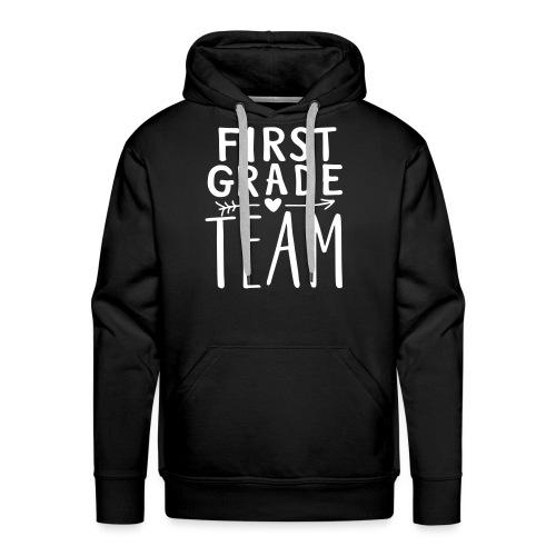 First Grade Team Teacher T-Shirts - Men's Premium Hoodie