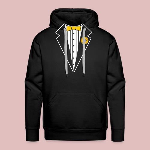 Keep It Classy Tux Shirt - Men's Premium Hoodie
