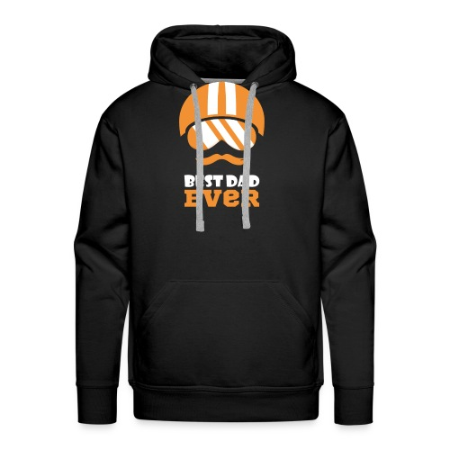 Best Motorcycle Dad Ever, Best Dad Ever - Men's Premium Hoodie