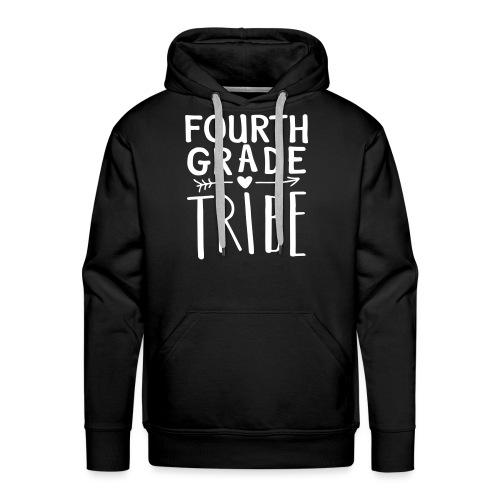Fourth Grade Tribe Teacher Team T-Shirts - Men's Premium Hoodie