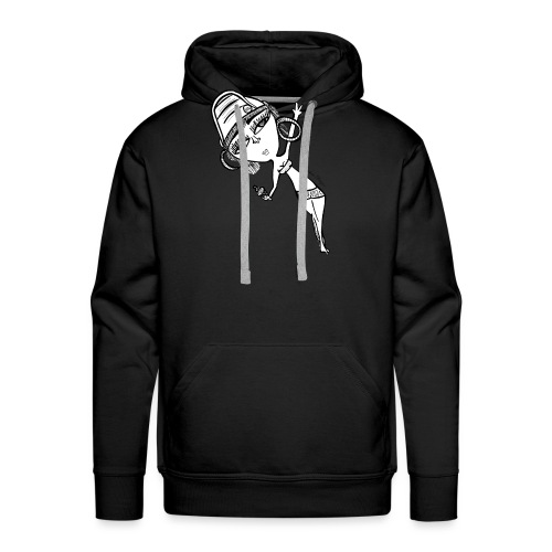 Day drunk girl - Men's Premium Hoodie