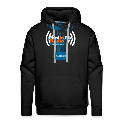 Paul in Rio Radio - The Thumbs up Corcovado #2 - Men's Premium Hoodie