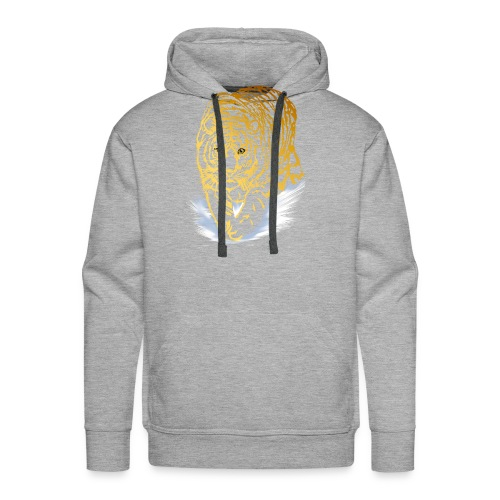 Golden Snow Tiger - Men's Premium Hoodie