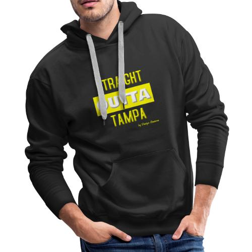 STRAIGHT OUTTA TAMPA YELLOW - Men's Premium Hoodie