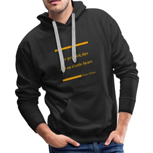 I VE GOT THICK SKIN ORANGE - Men's Premium Hoodie