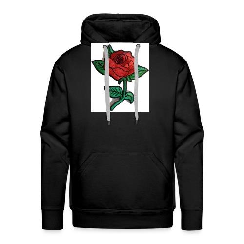 t-shirt roses clothing🌷 - Men's Premium Hoodie