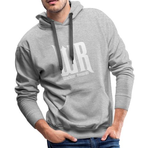 Wachler Records Light Logo - Men's Premium Hoodie