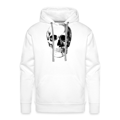 Human Skull - Men's Premium Hoodie