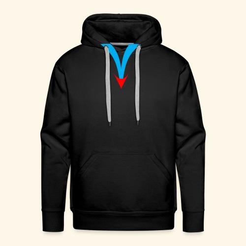 Simple V - Men's Premium Hoodie