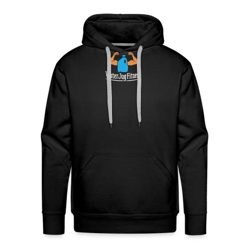 Logo-White-Lettering - Men's Premium Hoodie