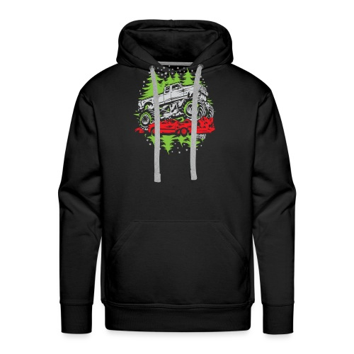 Ugly Christmas Monster - Men's Premium Hoodie
