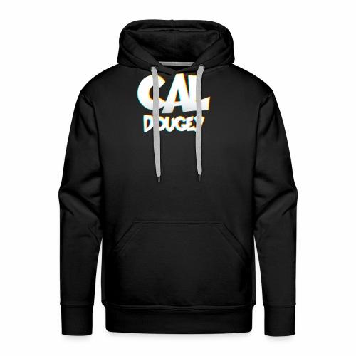 CAL DOUGEY TEXT - Men's Premium Hoodie