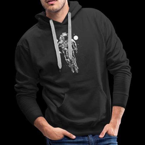 Space Cyclist - Men's Premium Hoodie