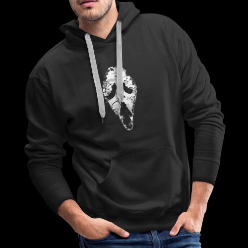Reaper Screams | Scary Halloween - Men's Premium Hoodie