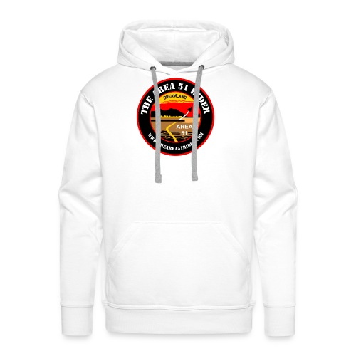 NEW Area 51 Rider Logo - Men's Premium Hoodie