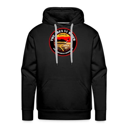 NEW Area 51 Rider Logo - Men's Premium Hoodie