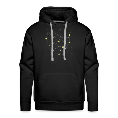 Heart in the Stars - Men's Premium Hoodie
