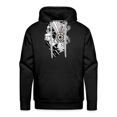 Gypsy Tattoo BW - Men's Premium Hoodie