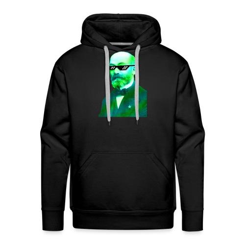 Green and Blue Zamenhof - Men's Premium Hoodie