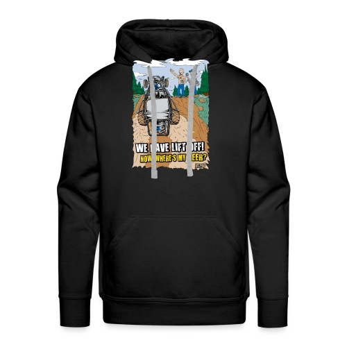Beer Buggy Lift Off - Men's Premium Hoodie