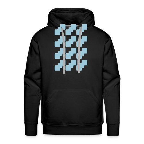 Fluid logo - Men's Premium Hoodie