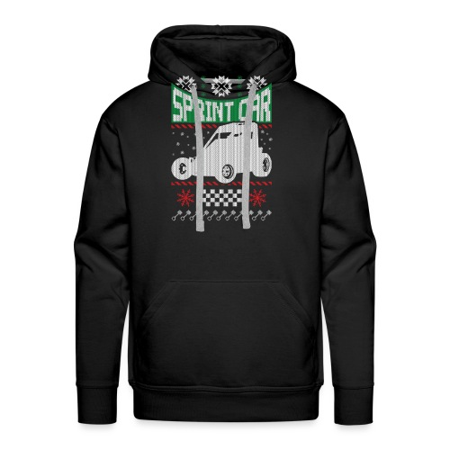Sprint Car Christmas - Men's Premium Hoodie
