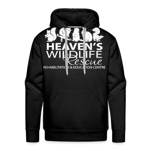 HWR White - Men's Premium Hoodie