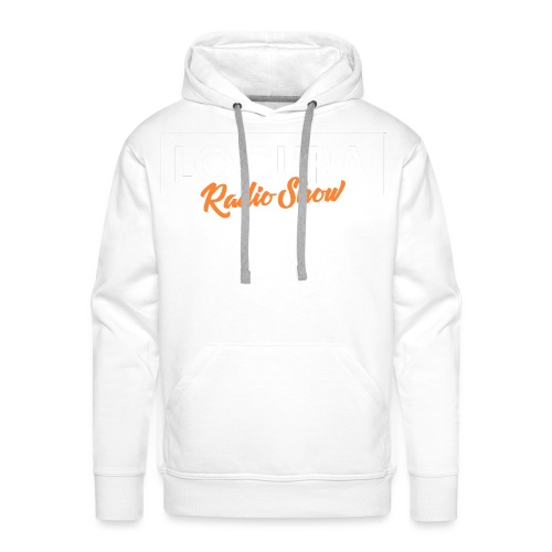 Locura Radio Show for Dark Background - Men's Premium Hoodie