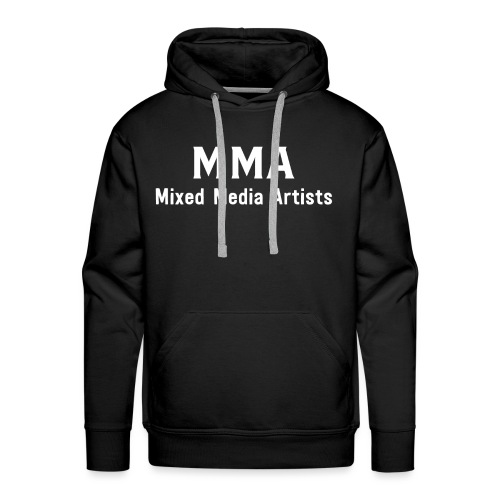 Mixed Media Artists Clothing - Men's Premium Hoodie